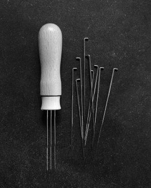 Filtnålar och filtnålshandtag från Filtmakeriet
