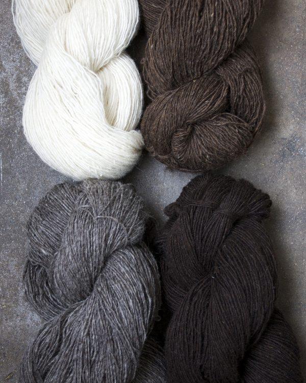 Filtmakeriets finullsgarn 1-trådigt 100 % svensk fårull