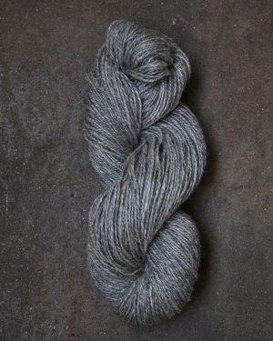 Filtmakeriets klassiska ullgarn Grå 2-trådigt 100 % svensk fårull