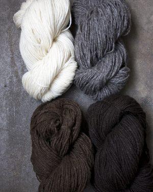 Filtmakeriets fimullsgarn 2-trådigt 100 % svensk fårull