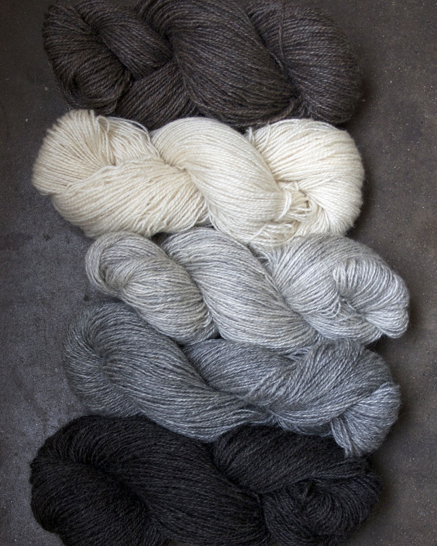Filtmakeriets klassiska ullgarn 2-trådigt 100 % svensk fårull