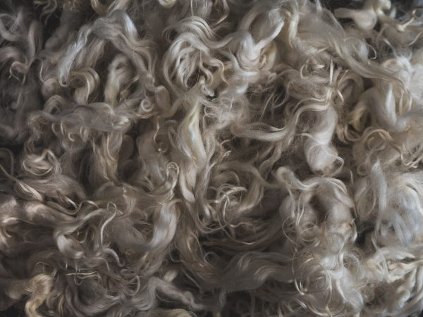 Filtmakeriets Ryaull Naturvit 100 % svensk fårull