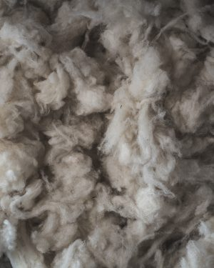 Filtmakeriets Texellulll Naturvit 100 % svensk fårull