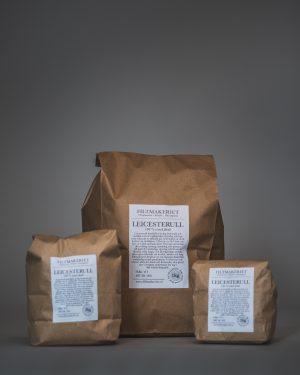 Filtmakeriets Leicester 100 % svensk fårull 1 kg / 3 hg / 1 hg