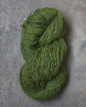 Filtmakeriets tweed Grön 1-trådigt 100 % svensk fårull