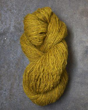 Filtmakeriets tweed Gul 1-trådigt 100 % svensk fårull