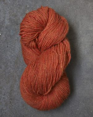 Filtmakeriets tweed Orange 2-trådigt 100 % svensk fårull