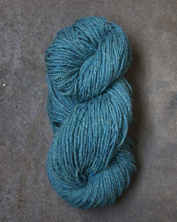 Filtmakeriets tweed Turkos 2-trådigt 100 % svensk fårull