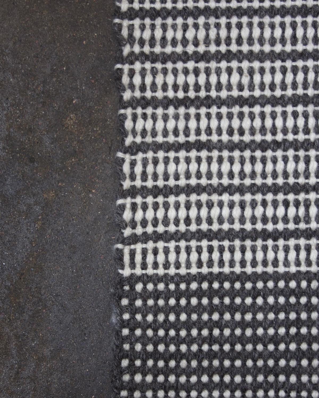 Vävd ullmatta Filtmakeriets matt- & varpullgarn 100 % svensk fårull