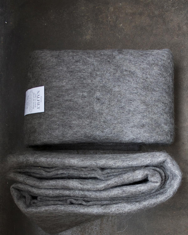 Filtmakeriets SVIA nålfilt för tovning av 100 % svensk fårull