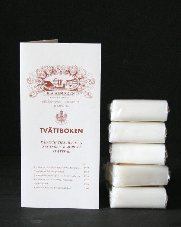 Filtmakeriet säljer Almgrens sidentvål för handtvätt av ylle