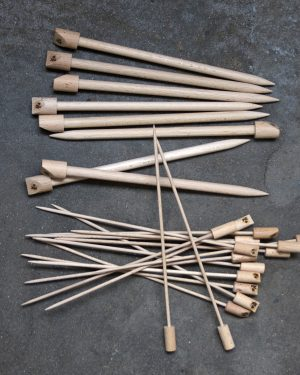 Filtmakeriets dominostickor i trä