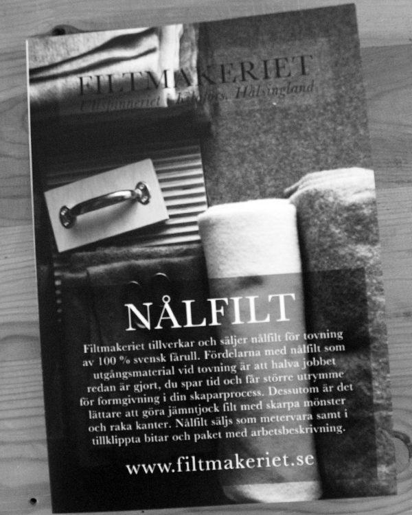 www.filtmakeriet.se Ullspinneriet i Kilafors Hälsingland