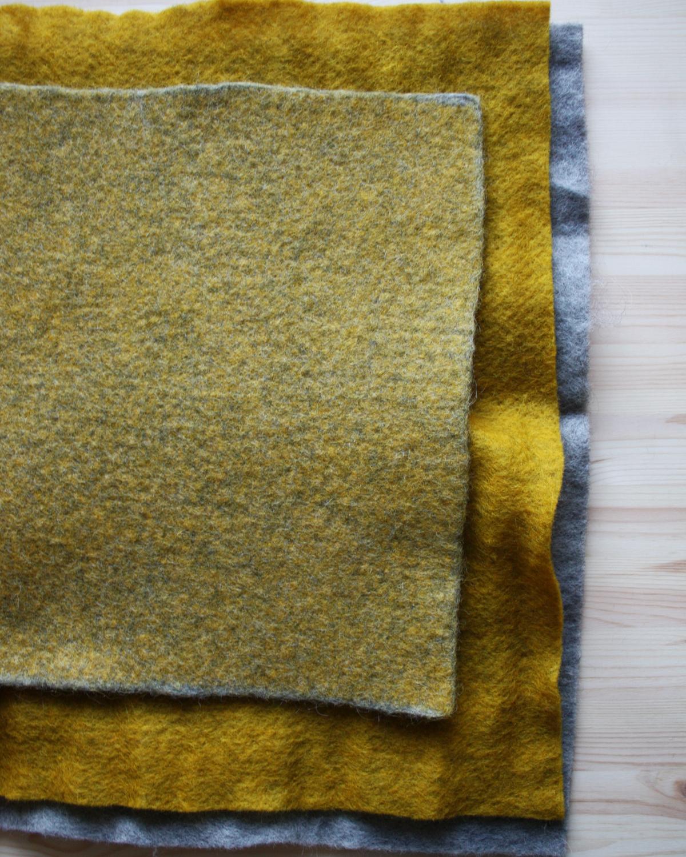Nålfilt och tovad nålfilt från Filtmakeriet