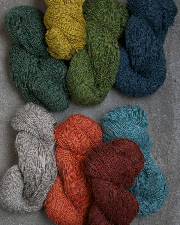 Filtmakeriets tweed 1-trådigt 100 % svensk fårull
