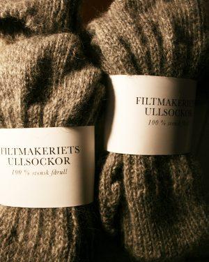 Filtmakeriets ullsockor, 100 % svensk fårull
