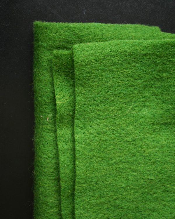 CLEO grön nålfilt - Filtmakeriet