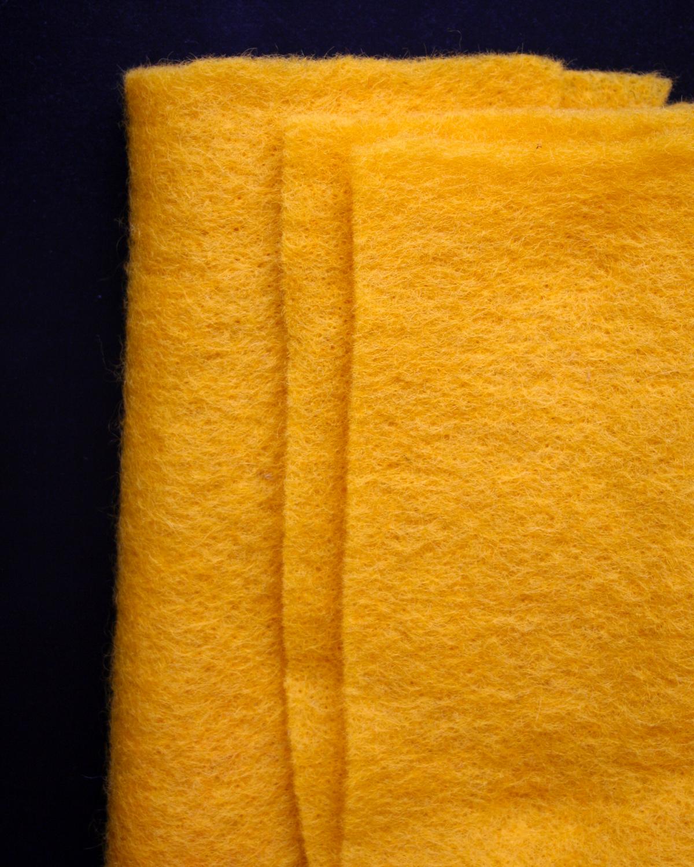 CLEO gul nålfilt - Filtmakeriet
