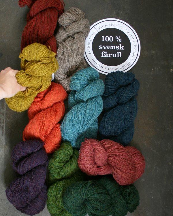 Filtmakeriets tweed 10 färger 1tr